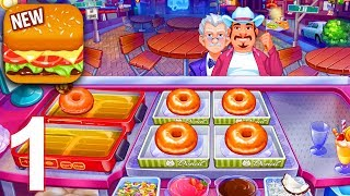 COOKING CRAZE Gameplay Part 1 - Levels 1 - 10 (iOS Android)