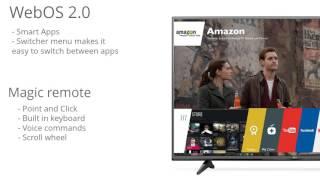 """LG Electronics 65UF6800 65"""" 4K Ultra HD LED TV Review"""