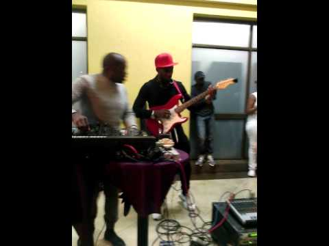 Pheko The Guitarist Performing on Marshalboys namba namba (Emo Boys Remix)