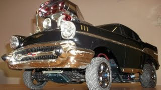 Custom Traxxas Slash VXL based 57 Chevy