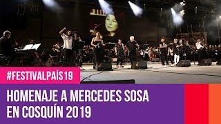 Homensaje a Mercedes Sosa en el Festival de Cosquín 2019 | #FestivalPaís19