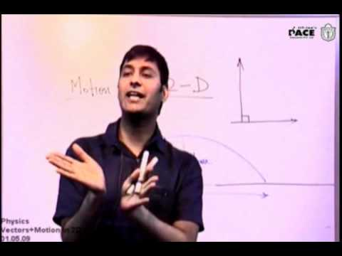 Projectile Motion Part 1 Prof. Praveen Tyagi