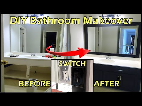 MirrorMate How To Install A Mirror Frame How To Save Money And Do It Yours