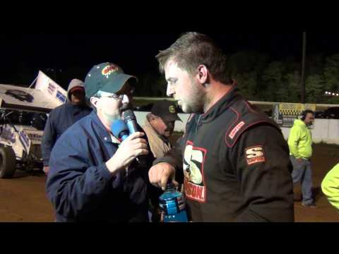 Susquehanna Speedway Park 410 Sprint Car Victory Lane 5-12-13