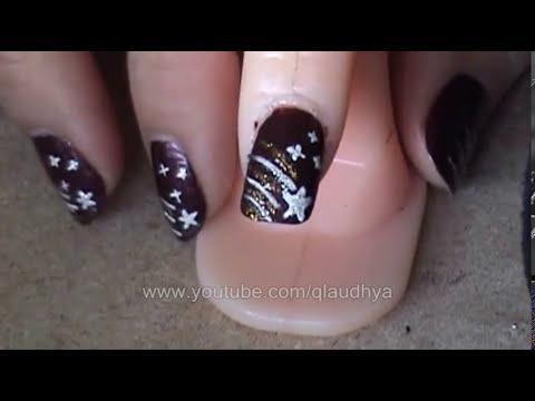Estrella fugaz ( Tutorial de uñas )
