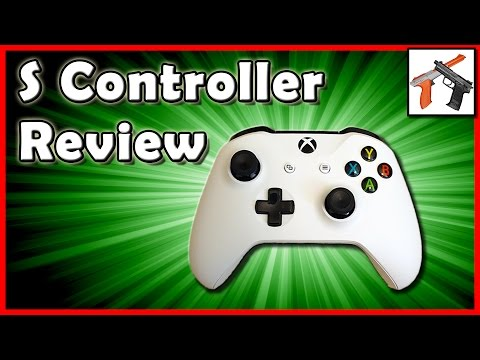 Xbox One S Controller Review: The BEST Controller !?!  One Comparison. Unboxing. Overview. and Test