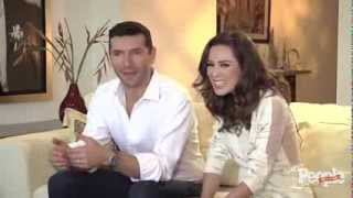 Jacqueline Bracamontes y Martín Fuentes en People en Español