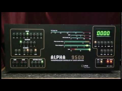 Alpha 9500 - Setting the Antenna Select Switch