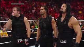 WWE The Shield Segment Then Attacks Evolution Backstage. May 2014