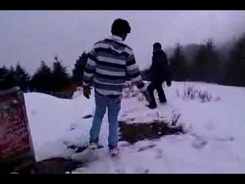 Snowfall in Nainital Feb 2013 Nainital Tourism.=09326980787
