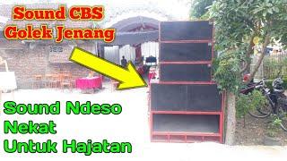 Box CBS Golek Jenang- Sound Ndeso Nekat Untuk Hajatan