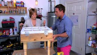 Home & Family Window Coffee Table