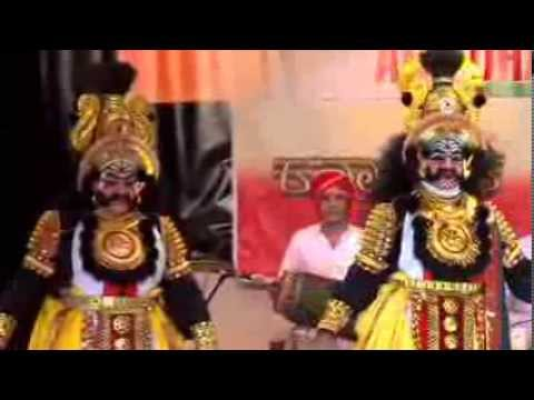 Yakshagana  Abudhabi - Kartaveeryarjuna Part1 Of 4 video