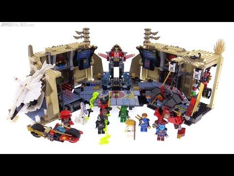 LEGO Ninjago Samurai X Cave Chaos review! 70596