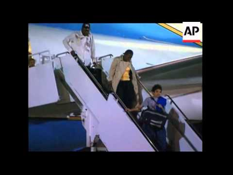 US Sec of State arrives in US after trip to Haiti