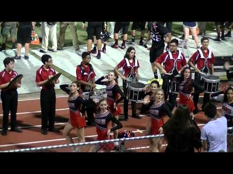 Cooper City High School MB Drum Line - 9/5/2014