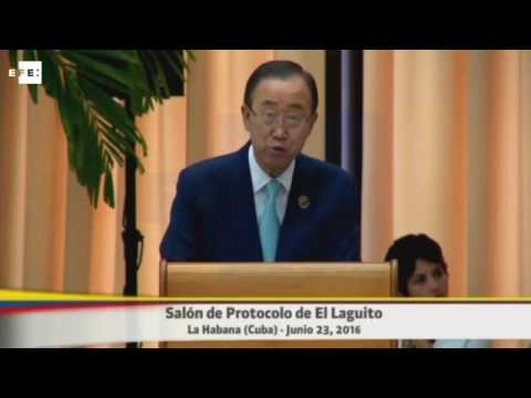 Ban Ki-moon señala que acuerdo para cese el fuego fortalece camino de la paz-