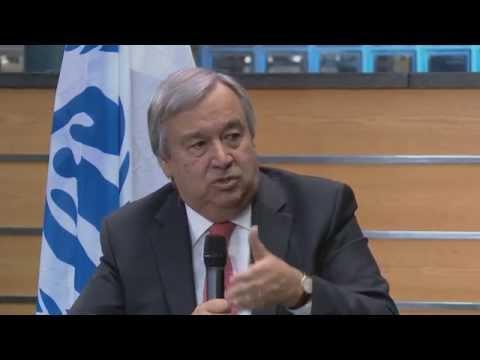 """Antonio Guterres sur TV5MONDE : """"La crise des réfugiés est gérable"""""""