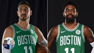 Enes Kanter trolls Kyrie Irving by wearing No. 11 with the Celtics | Jalen & Jacoby