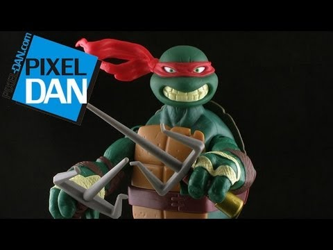 Nickelodeon Teenage Mutant Ninja Turtles Battle Shell Raphael Figure Review