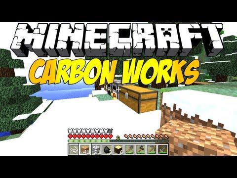 Minecraft Mod Review : CarbonWorks (1.4.2) [DEUTSCH/HD]