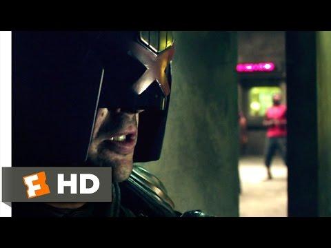 Dredd (4/11) Movie CLIP - Slum Shootout (2012) HD