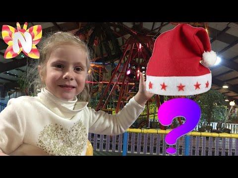 Николь и Парк Развлечений ВЛОГ Волшебная Шапочка николь VLOG Playground Детское Видео развлечения