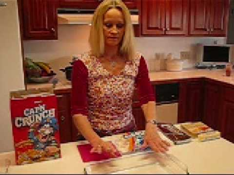 Betty's Chocolate Marshmallow Cap'n Crunch Squares Recipe Video