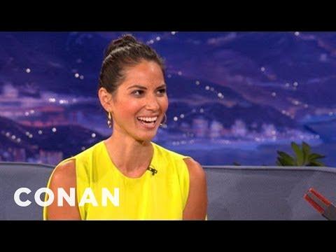 Olivia Munn: Paparazzi Dissed My Mom - CONAN on TBS