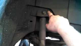 Rear shock replacement 2006 Chevrolet HHR shocks Install Remove Replace