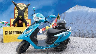 TVS Scooty Zest 110 - #HimalayanHighs