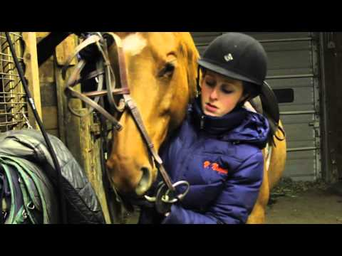Valerie Naegele's Riding Lesson