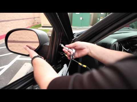 Pep Boys How to Install Towing Mirrors Video