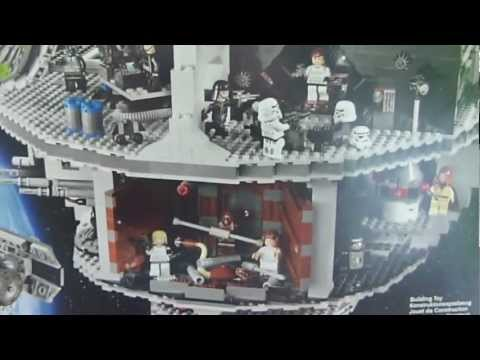 lego star wars todesstern 10188 auspacken review death. Black Bedroom Furniture Sets. Home Design Ideas