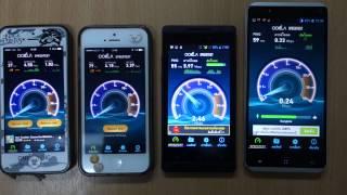 ทดสอบความเร็ว 3G 4 ค่าย