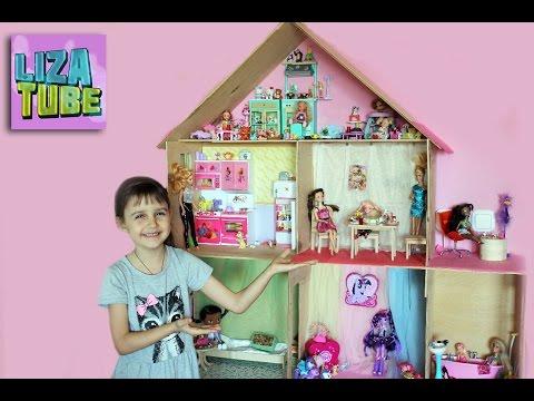 Картинки: Как сделать домик для куклы Барби своими руками из разных (Картинки) в Пскове