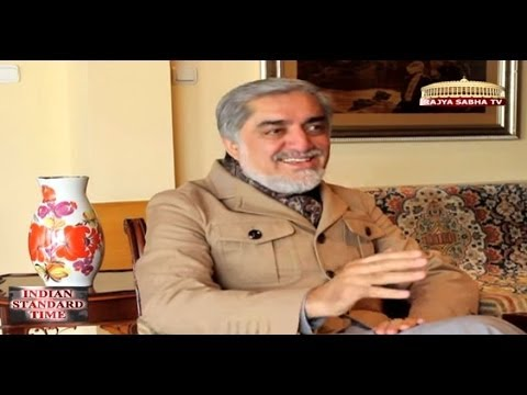 Abdullah Abdullah (Afghanistan Presidential candidate) on Indian Standard Time