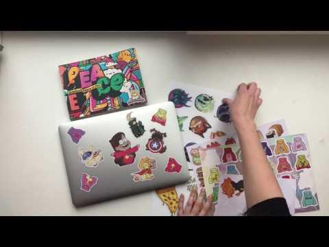 Наклейки Gravity Falls (интернет-магазин Parazita Kusok)