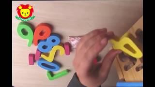 nhà thả số đồ chơi gỗ cho bé vui học