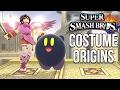 Super Smash Bros. Costume Origins - Kirby, Kid Icarus