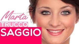Come Fare un Trucco per il Saggio o un Trucco di Scena | Marta Make up Artist | Video Tutorial