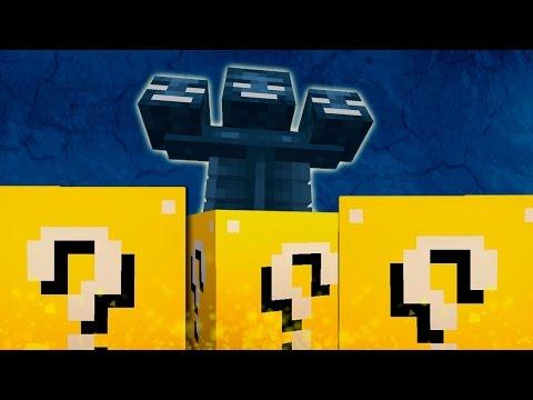 Wither Boss - desafío De La Suerte - #12 Lucky Blocks video