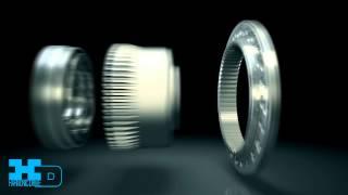 Harmonic Drive® strain wave gear - no backlash