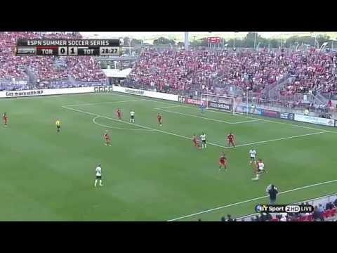 Erik Lamela vs Toronto FC (Pre Season 14-15) by TB7xcomps