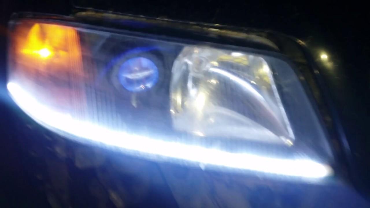 Audi a6 c5 фары светодиодные своими руками 48