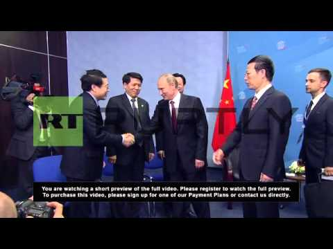 Russia: Putin prepares to sell $60 billion of oil to China