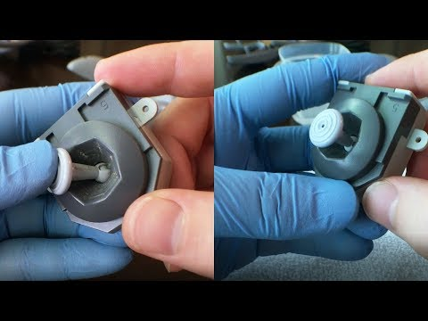 Nintendo 64 (N64) joystick teardown - How to clean/fix/restore/refurbish
