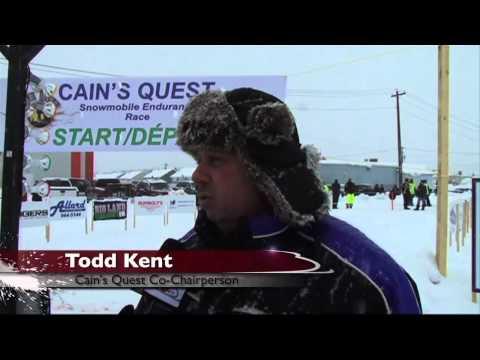 Snowmobiler TV Cain's Quest Show Part 1