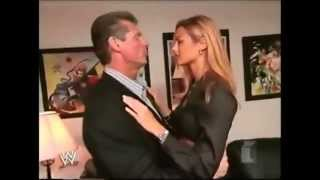 Stacy Keibler and Vince Mcmahon segments