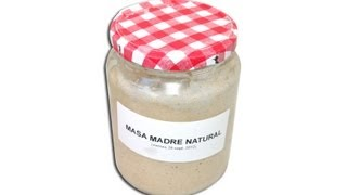Masa madre natural